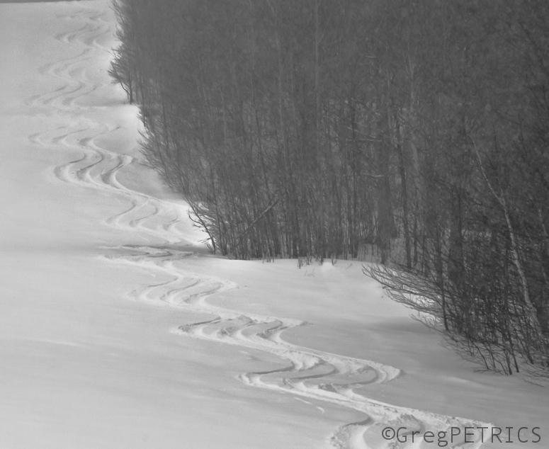 continuously deformed through skiable terrain to a point