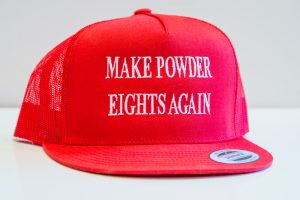 MAKE POWDER EIGHTS AGAIN
