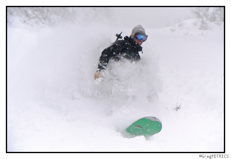 Even deep for snowboarders