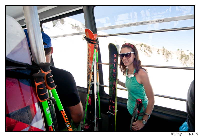 riding the tram beats skinning