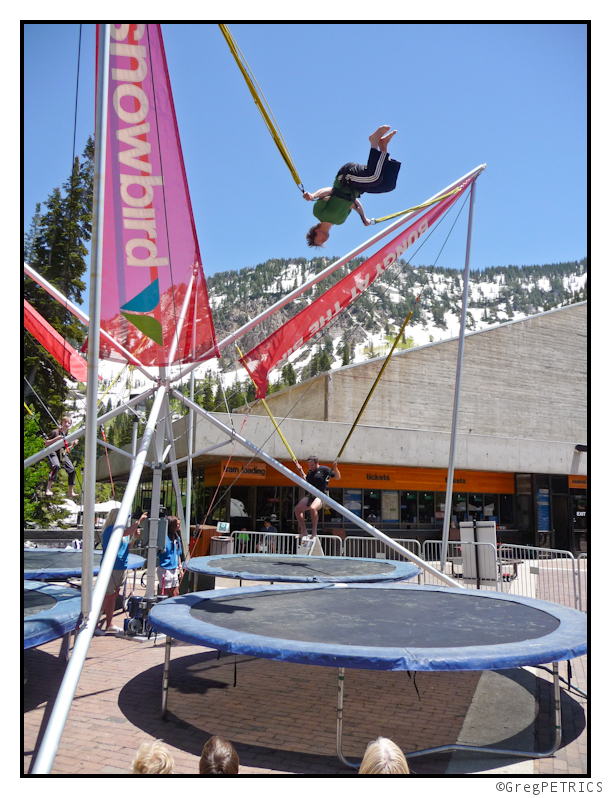 greg doing flips at snowbird